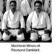Ma�tre Mochizuki Minoru et Raymond Damblant