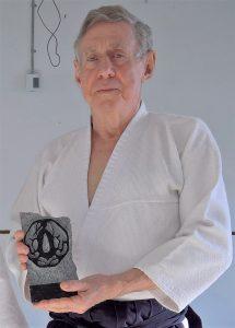 Claude Gagnon et la tsuba de granite (2)